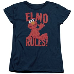 Sesame Street - Womens Elmo Rules T-Shirt