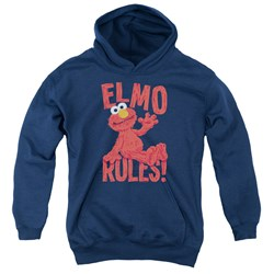 Sesame Street - Youth Elmo Rules Pullover Hoodie