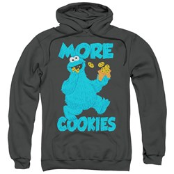 Sesame Street - Mens More Cookies Pullover Hoodie