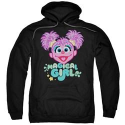 Sesame Street - Mens Scribble Head Pullover Hoodie