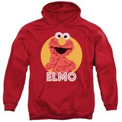Sesame Street - Mens Elmo Scribble Pullover Hoodie