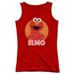 Sesame Street - Juniors Elmo Scribble Tank Top