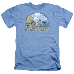 Sesame Street - Mens Sesame Group Heather T-Shirt
