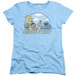 Sesame Street - Womens Sesame Group T-Shirt