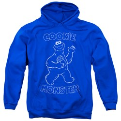 Sesame Street - Mens Simple Cookie Pullover Hoodie