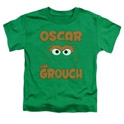 Sesame Street - Toddlers Oscar Sandwich T-Shirt