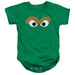 Sesame Street - Toddler Oscar Face Onesie