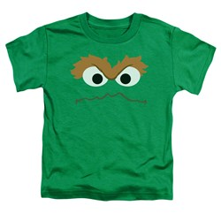 Sesame Street - Toddlers Oscar Face T-Shirt