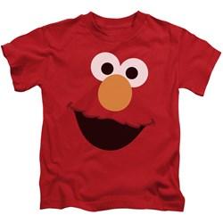 Sesame Street - Little Boys Elmo Face T-Shirt
