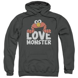 Sesame Street - Mens Love Monster Pullover Hoodie