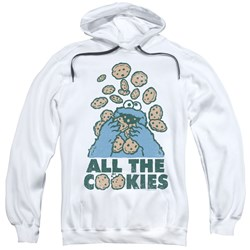 Sesame Street - Mens All The Cookies Pullover Hoodie