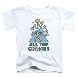 Sesame Street - Toddlers All The Cookies T-Shirt