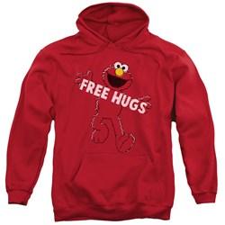 Sesame Street - Mens Free Hugs Pullover Hoodie