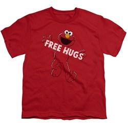 Sesame Street - Big Boys Free Hugs T-Shirt