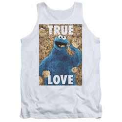 Sesame Street - Mens Beautiful Cookies Tank Top