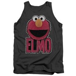 Sesame Street - Mens Elmo Smile Tank Top