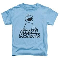 Sesame Street - Toddlers Vintage Cookie Monster T-Shirt