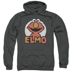 Sesame Street - Mens Elmo Name Pullover Hoodie