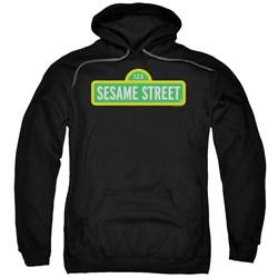Sesame Street - Mens Logo Pullover Hoodie