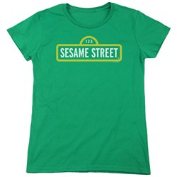 Sesame Street - Womens Logo T-Shirt