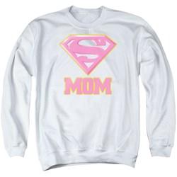 Superman - Mens Super Mom Pink Sweater