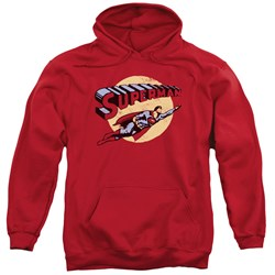 Superman - Mens Fly By Pullover Hoodie