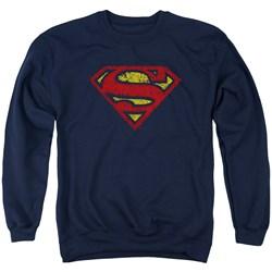 Superman - Mens Crackle S Sweater