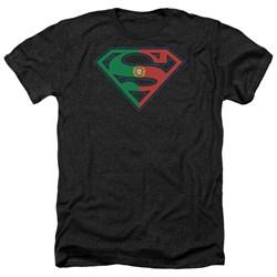 Superman - Mens Portugal Shield Heather T-Shirt
