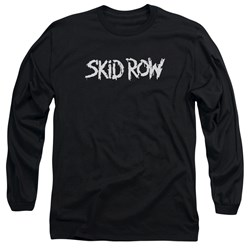 Skid Row - Mens Logo Long Sleeve T-Shirt
