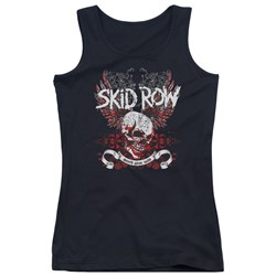 Skid Row - Juniors Winged Skull Tank Top