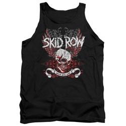 Skid Row - Mens Winged Skull Tank Top