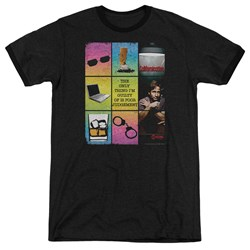 Californication - Mens Poor Judgement Ringer T-Shirt