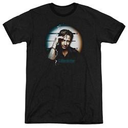 Californication - Mens In Handcuffs Ringer T-Shirt