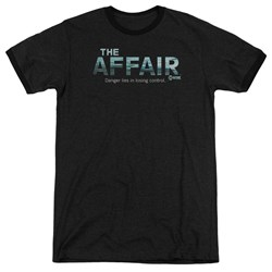 Affair - Mens Ocean Logo Ringer T-Shirt