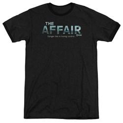 Affair - Mens Ocean Logo Ringer T-Shirt