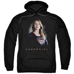 SuperGirl - Mens Stand Tall Pullover Hoodie