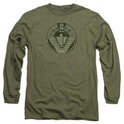 Stargate - Mens Sg1 Distressed Long Sleeve T-Shirt