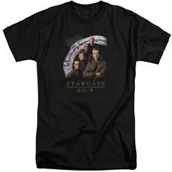 Stargate SG1 - Mens Cast Stacked Tall T-Shirt