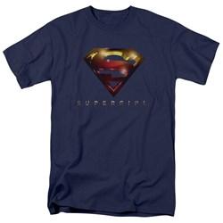 SuperGirl - Mens Logo Glare T-Shirt