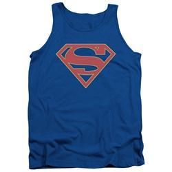 SuperGirl - Mens Logo Tank Top