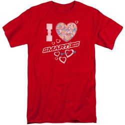 Smarties - Mens I Heart Smarties Tall T-Shirt