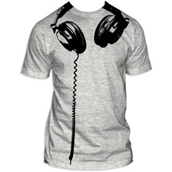 Headphones Big Print Subway T-Shirt