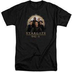Stargate SG1 - Mens Sg1 Team Tall T-Shirt