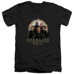 Stargate SG1 - Mens Sg1 Team V-Neck T-Shirt