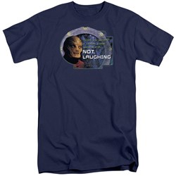 Stargate SG1 - Mens Not Laughing Tall T-Shirt
