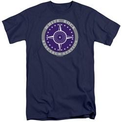 Stargate SG1 - Mens White Rock Logo Tall T-Shirt