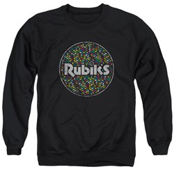 Rubik's Cube - Mens Circle Pattern Sweater