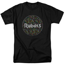 Rubik's Cube - Mens Circle Pattern T-Shirt