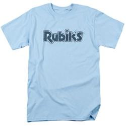 Rubik's Cube - Mens Rough Logo T-Shirt