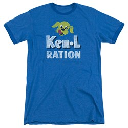 Ken L Ration - Mens Distressed Logo Ringer T-Shirt